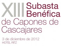 XIII Subasta benéfica de Capones 2012