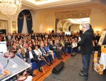 Aspecto general del Salón Real del Hotel Ritz durante la Subasta de Capones de Cascajares